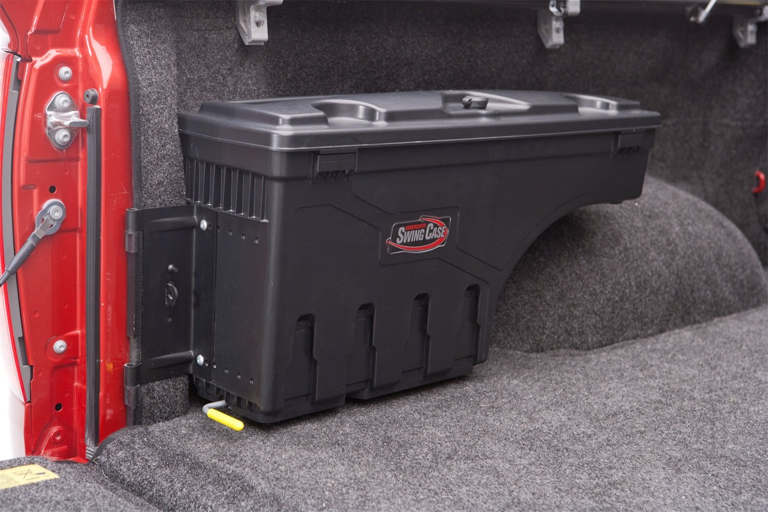 UnderCover SC200D SwingCase Truck Storage Box 1999-2016 F-250/F-350 Super Duty Drivers Side Black by Undercover