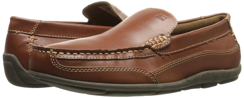 Tommy Hilfiger Men\'s Dathan Fashion Sneaker,Light Brown Leather,8.5 M US