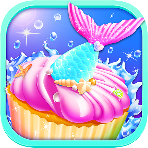 Mermaid Unicorn Cupcake Bakery Shop Cooking Game for sale  Delivered anywhere in USA