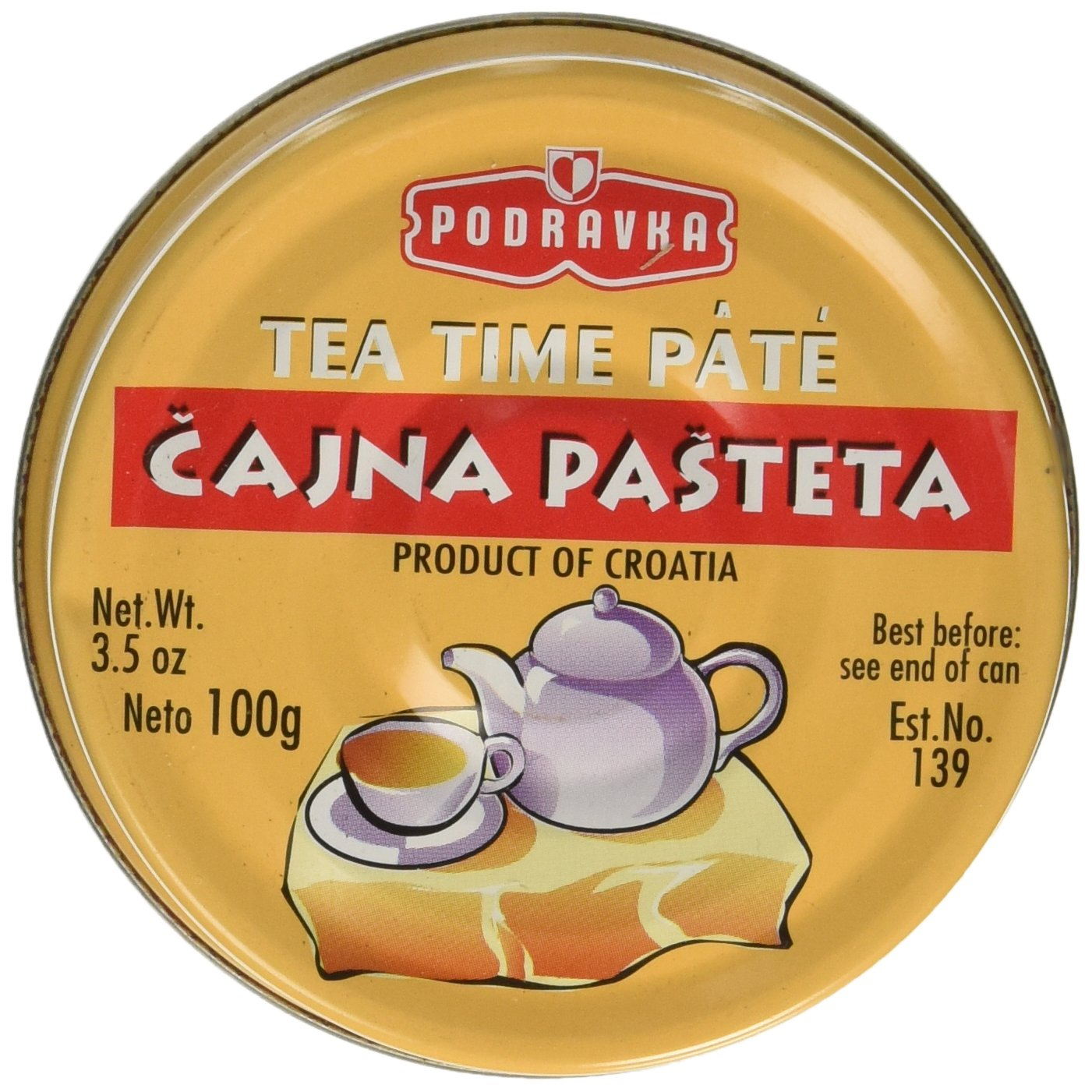 PODRAVKA TEA TIME PATE 60 x 100g
