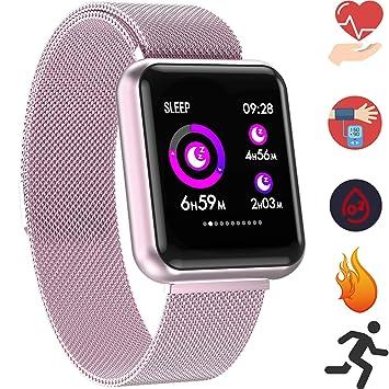 Montre Connectée Bracelet Smartwatch - Fitness Tracker dActivité Cardiofréquencemètre IP67 Etanche Cardio Podomètre Sport