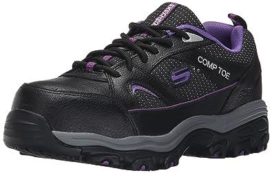 f70296f0347 Amazon.com  Skechers for Work Women s D Lite SR Slip Resistant Work ...