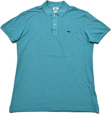 Lacoste Mens Slim Fit Mesh Polo Shirt at Amazon Men's Clothing store