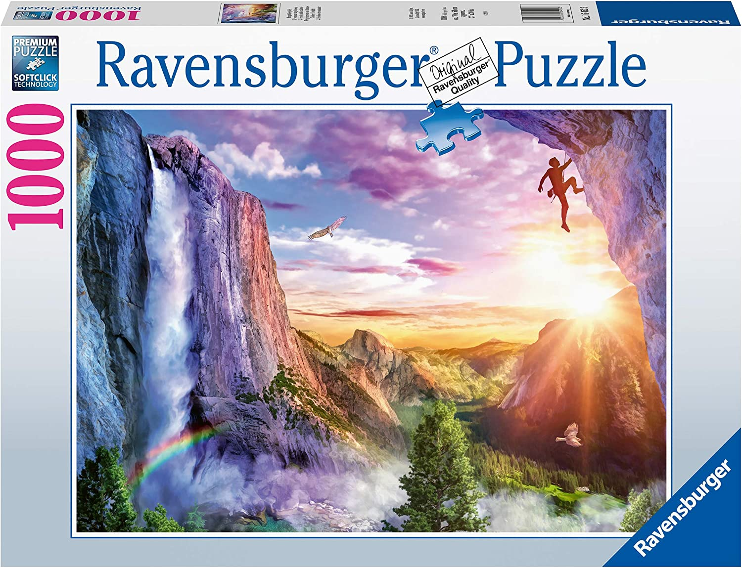 Ravensburger 16452 Climber's Delight 1000 Piece Puzzle for Adults - Every Piece is Unique, Softclick Technology Means Pieces Fit Together Perfectly