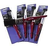 Premier Pure Bristle Paint Brush 0.5-Inch Red Plastic Handle