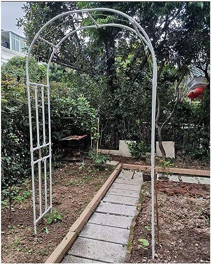 HLMBQ Arco de Metal para Jardin Enrejado,Arcos para Rosas ...