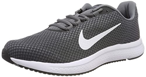 Runallday Grey/White Running Shoes-7 UK