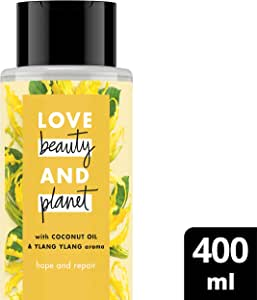 Love Beauty And Planet Shampoo Coconut Oil & Ylang Ylang, 400ml