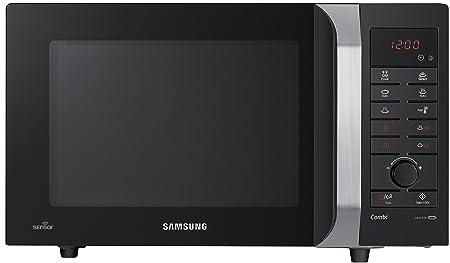 Samsung CE107FTP-S 28L 900W Negro, Plata - Microondas (28 L, 900 W ...