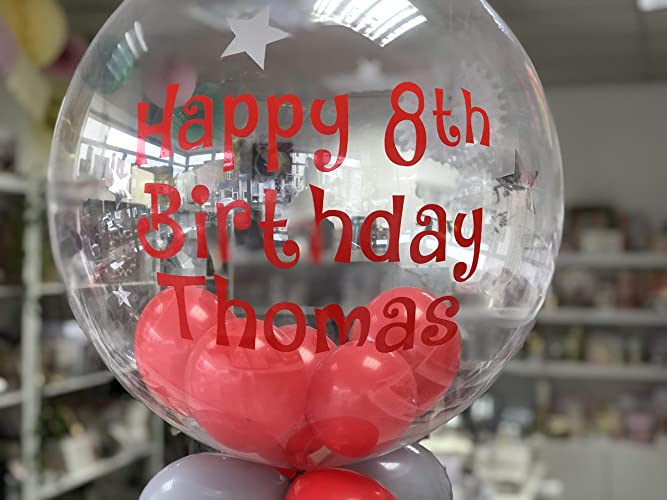 Birthday Balloon In A Box Inflated Helium Happy Personalised