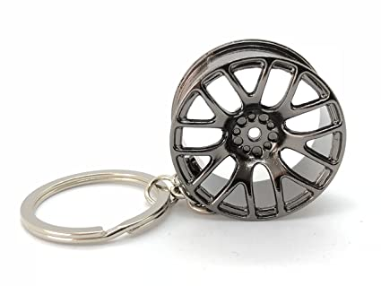 Amazon.com: GT//Rotors Juego de 5 piezas de llavero de metal ...