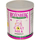 Meyenberg Goat Milk, Whole Powdered Goat Milk, Vitamin D, 12 oz (340 g) -- 2PC