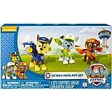 PAW Patrol Action Pack Pup figurki zestaw 3 szt. - wersja 2 (Chase, Rocky, Zuma)