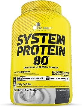 Olimp Sport Nutrition System Protein 80 Proteína, Sabor Chocolate - 2200 gr