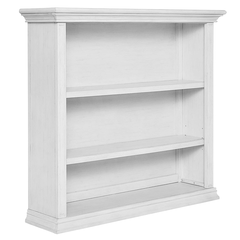 Evolur 8181-WW Mini Bookcase Weathered White