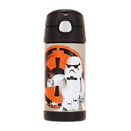 6cacd4c110 Amazon.com  Star Wars Rebels Funtainer Thermos ~ 12 oz  Kitchen   Dining