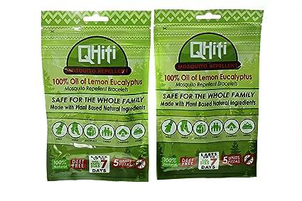 100% Aceite de Limón Eucalipto | qhiti repelente de mosquitos pulseras – Todos los ingredientes