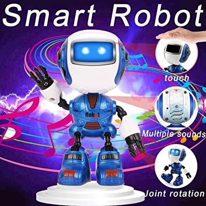 Induction Intelligent Remote Control Robot Children Educational Toys Early Kids Smart Toys With Music Talking Walking Function Making Things Convenient For The People Smart Remote Control Consumer Electronics