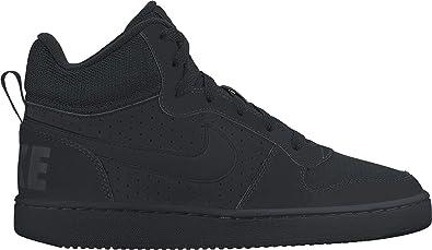 Chaussuresbasket Court boroughmid noir - Nike GWbQjAs