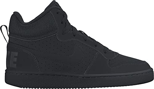Nike Court Borough Mid Sneaker Alte Unisex Bambini Nero 39 Scarpe 39