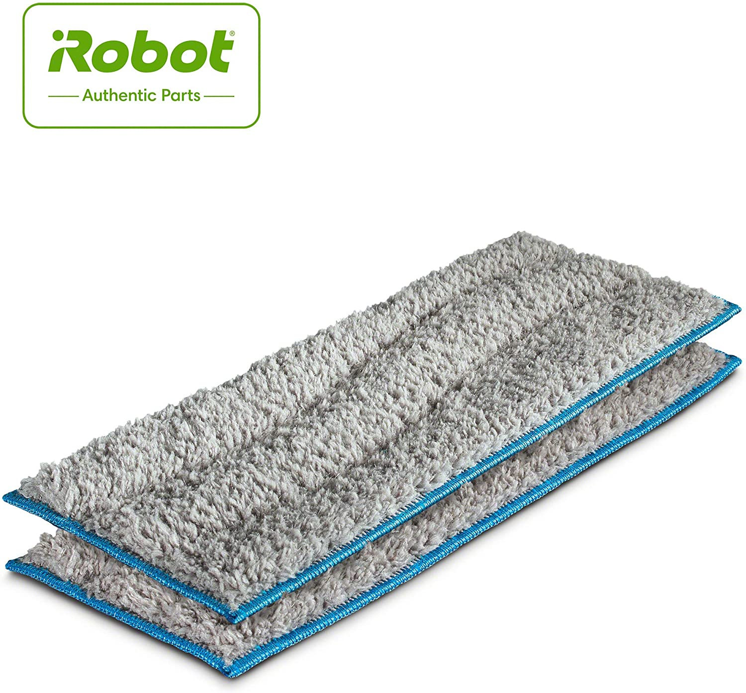 iRobot Authentic Replacement Parts- Braava jet m Series Washable Wet Mopping Pads, (2-Pack)