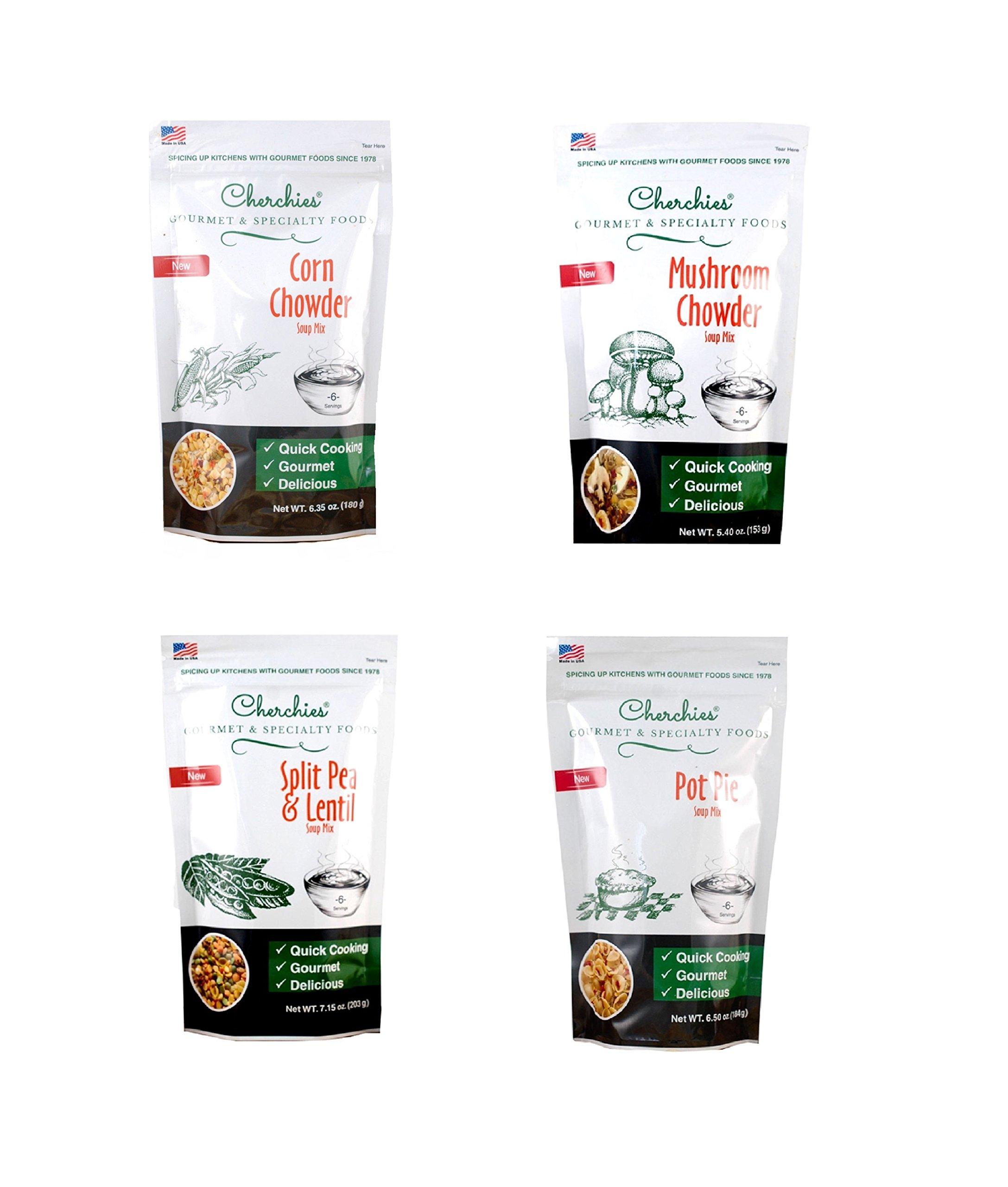 Cherchies Classic Home Comfort Soup Collection