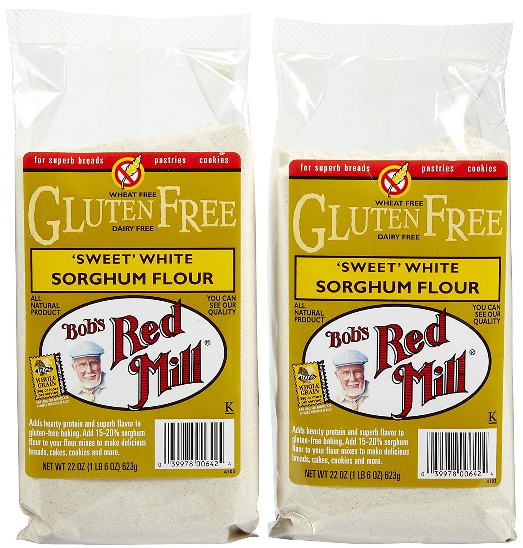 Bob's Red Mill Gf Sweet White Sorghum Flour - 22 oz - 2 pk