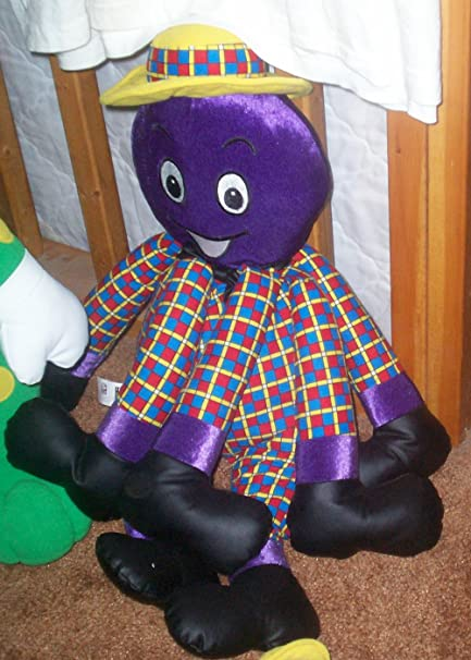 Amazoncom The Wiggles Henry The Octopus 24 Inches Plush Stuffed