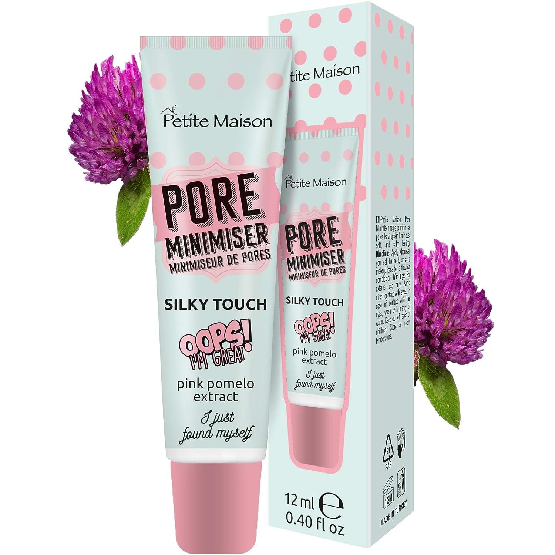 Pore Minimizer Primer Petite Maison - Pore Reducer Face Primer Balm - Minimize Pores for No-Makeup Days or as a Makeup Primer - Shrink Pores Flawless Primer Face Makeup for All Skin Types 0.40 fl oz