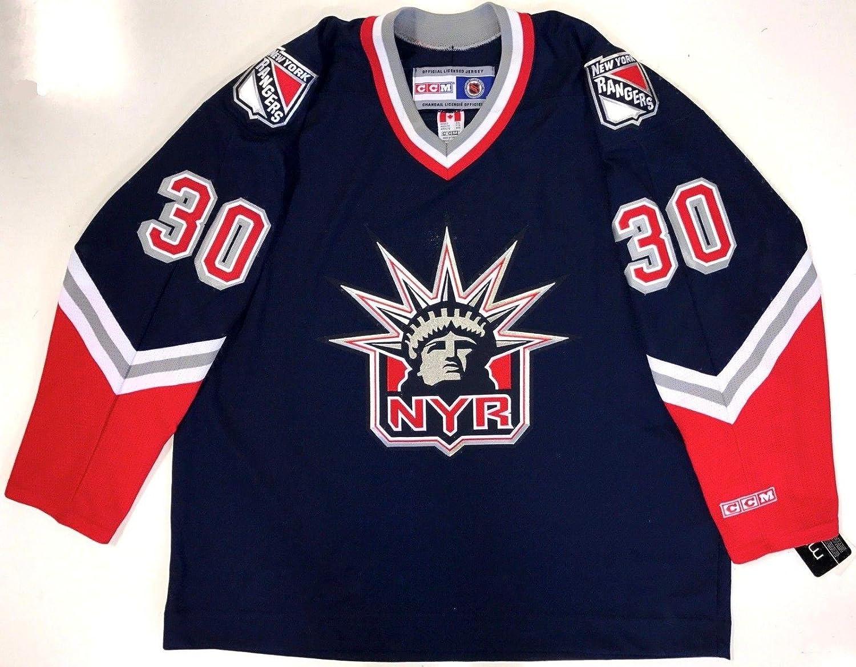 new arrival fa4d8 a3fb0 Henrik Lundqvist Ccm Replica New York Rangers