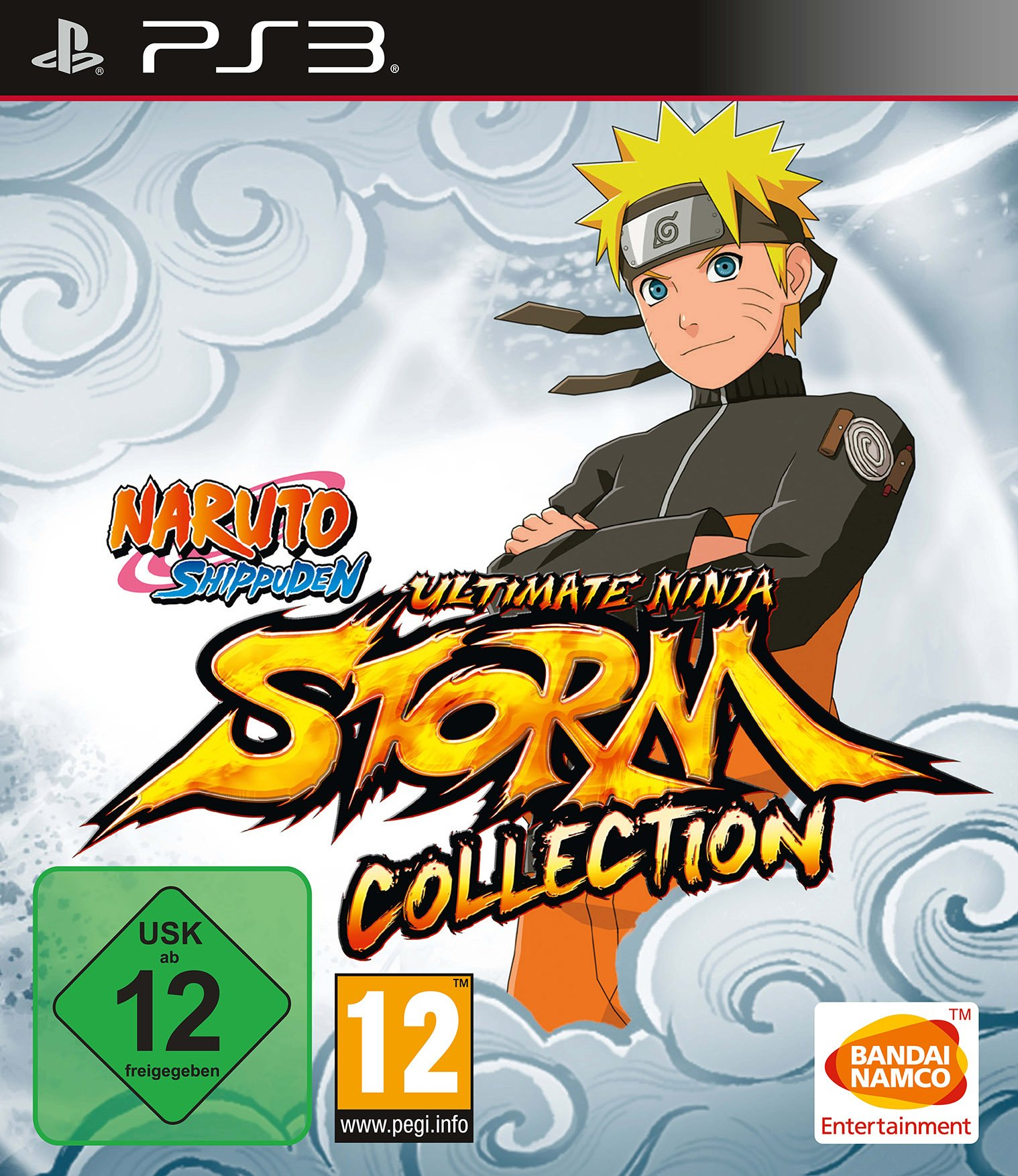 Amazon.com: Naruto Shippuden Ultimate Ninja Storm 1+2+3 Full ...