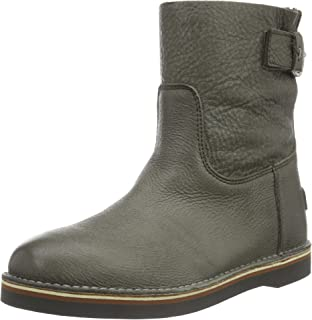 Womens Ladies Short 16cm with Real Wool Lining Alissa Matching Sole Ankle Boots Shabbies Amsterdam
