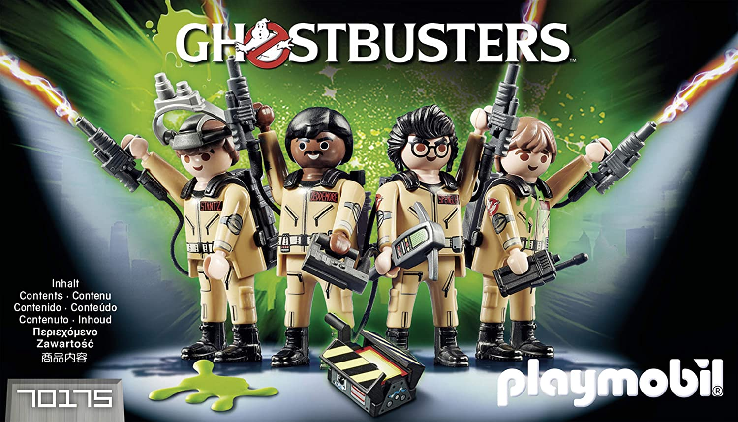 Playmobil 70175 Ghostbusters équipe Collector/'s Set Action Figures New in Box