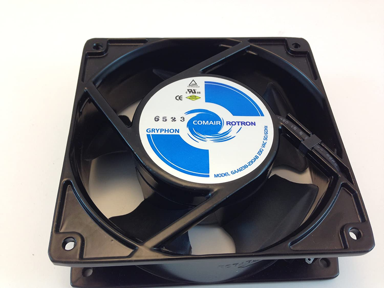 GAA1238-230AB COMAIR ROTRON AXIAL COOLING FAN, 220VAC 50/60HZ 120MM X 120MM X 38MM