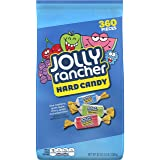 JOLLY RANCHER Hard Candy, Assortment (Watermelon, Apple, Cherry, Grape, Blue Raspberry), 5 Pound Bag (360 Pieces)