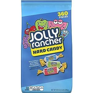 JOLLY RANCHER Hard Candy Assortment, 5 Pound Bulk Candy