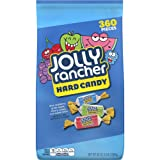 JOLLY RANCHER Hard Candy, Assortment (Watermelon, Apple, Cherry, Grape, Blue Raspberry), 5 Pound Bag (360 Pieces) (Halloween Candy)