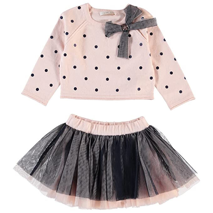 f05d20a0e383 Completo Liu Jo Baby Maglia Pois Gonna Tulle 12M  Amazon.it ...