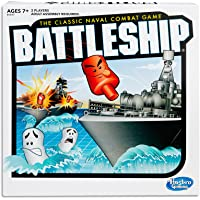 Battleship Classic - Naval Combat Game - 2 Players - Strategy Board Games - Ages 7+