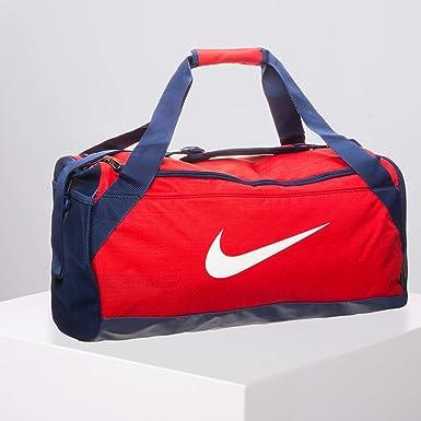 Nike Bolso Brasilia Rojo/Azul medium rojo: Amazon.es: Ropa y accesorios