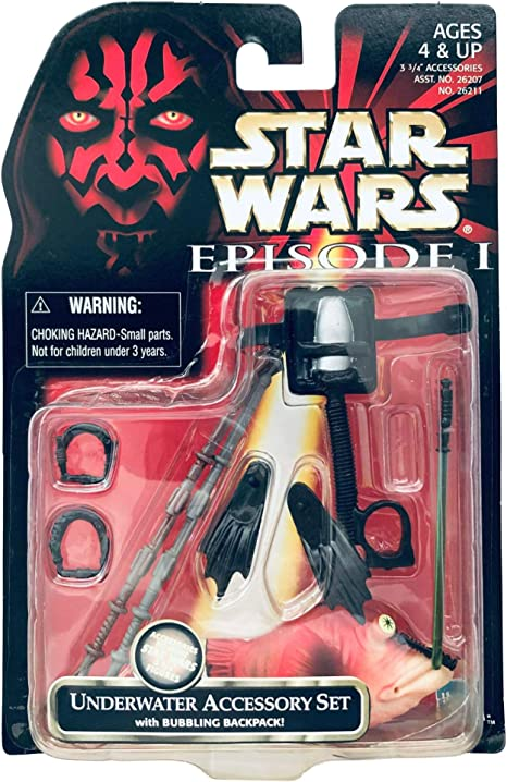 Hasbro Star Wars Episode 1 Sith Accessory set Brand New!