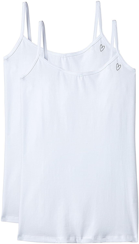 Intimuse 11203 Camiseta sin Mangas, Blanco (weiß), 38 (Talla del Fabricante: S), Pack de 2: Amazon.es: Ropa y accesorios
