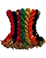 Creation Womens Cotton Dupatta (Src007 _Multi _Free Size)(Pack of 7)