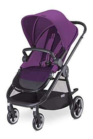 Cybex Iris M-Air - Silla de paseo (desde el nacimiento hasta 17 kg), color Grape juice