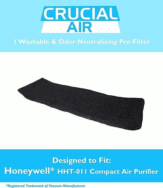Honeywell HHT-011 lavable y reutilizable de olores Neaturalizing de partículas pre-filtro para Honeywell HHT-