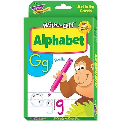 Trend Enterprises Inc. Alphabet Wipe-Off Activity Cards: Toys & Games