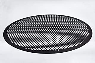 product image for LloydPans 14 inch, Pre-Seasoned PSTK Hex Pizza Disk, Dark Gray