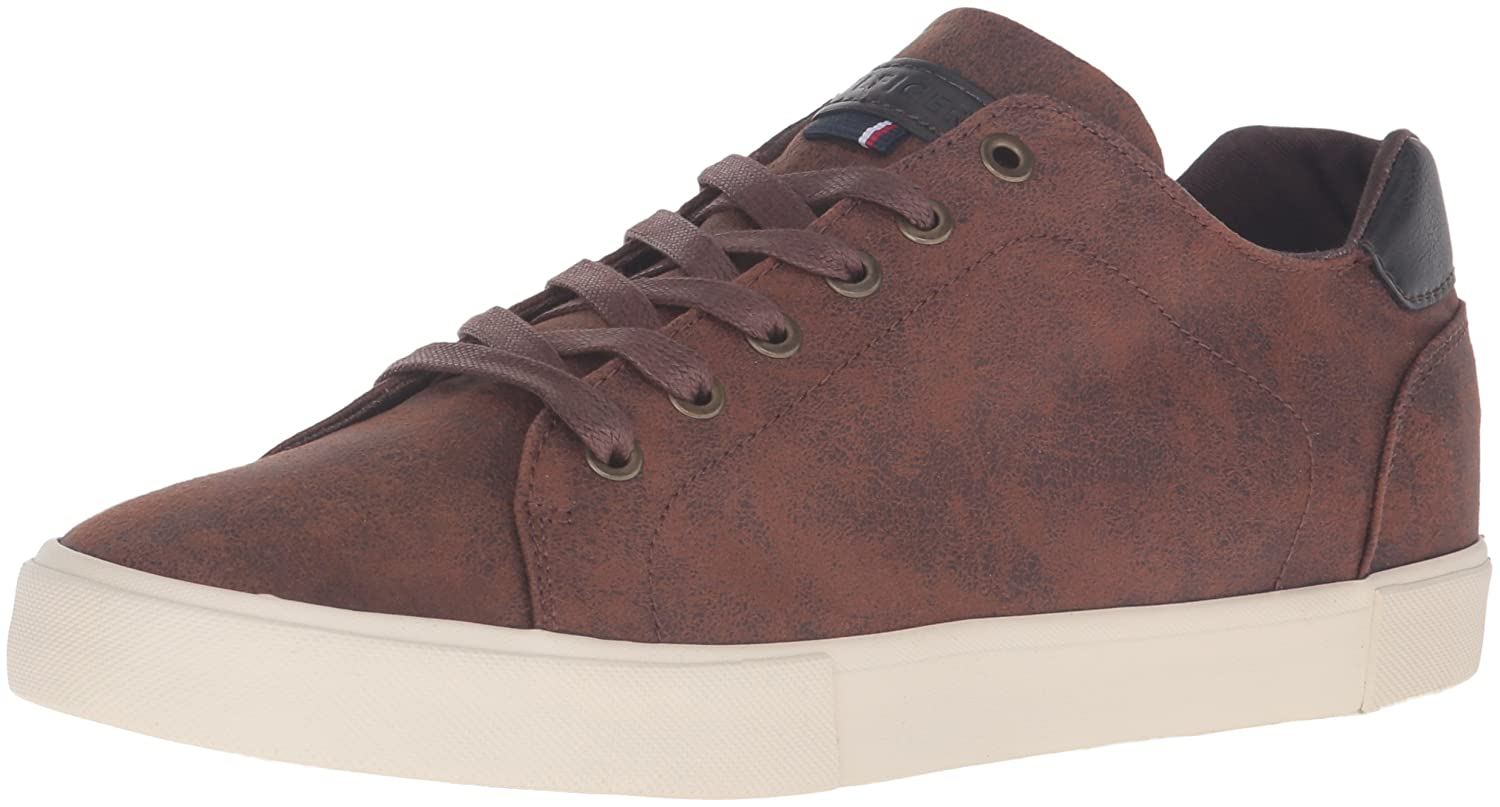 Tommy Hilfiger Pawleys2 Fabric, Baskets Mode pour Homme Violet Violet