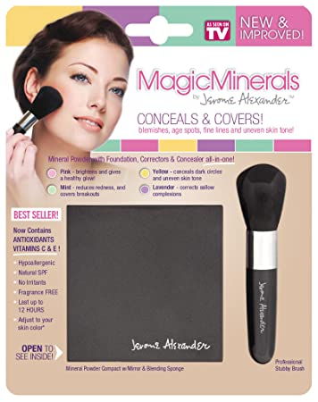 f68dca4c3b Amazon.com : Jerome Alexander Magic Minerals (2pc) - Medium : Beauty