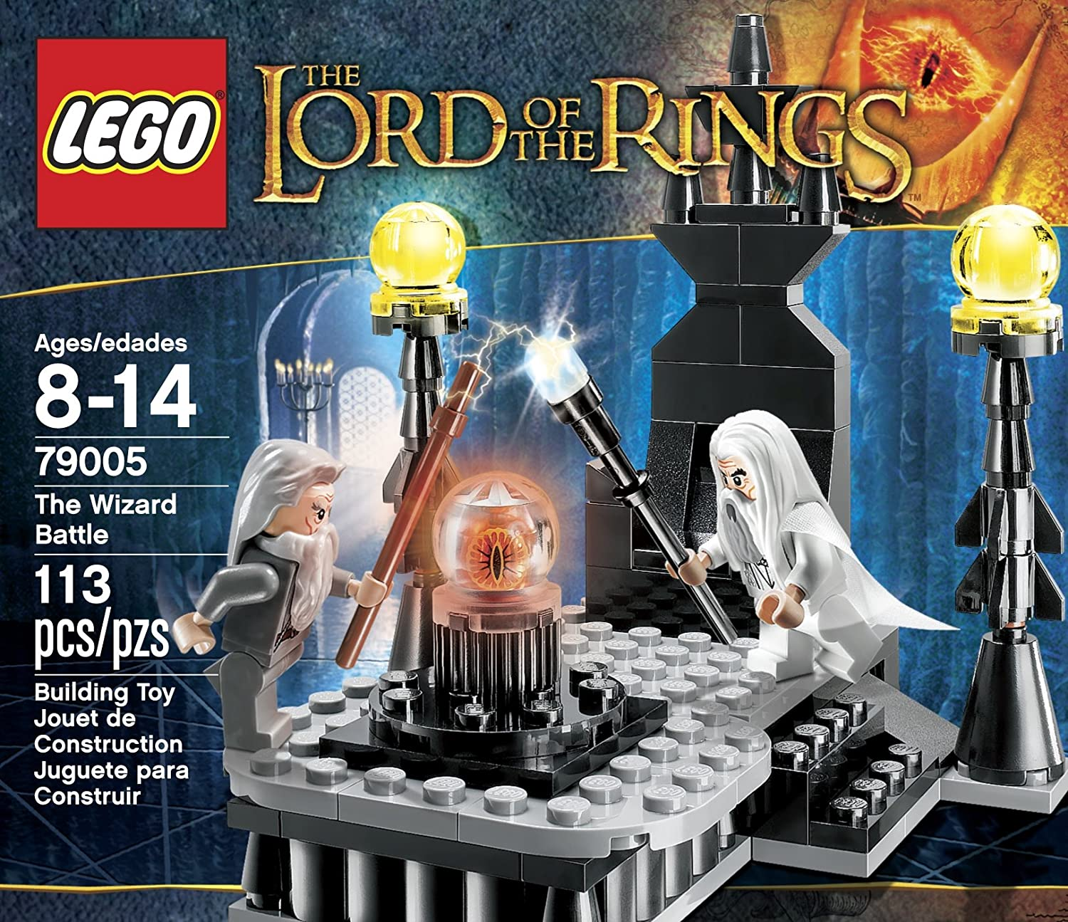Amazon.com: LEGO Lord Of The Rings 79005 The Wizard Battle: Toys & Games